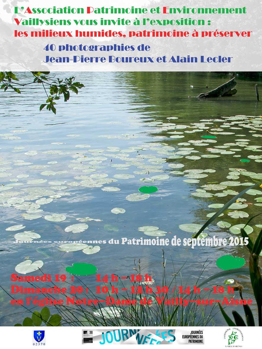 Affiche Patrimoine 2015