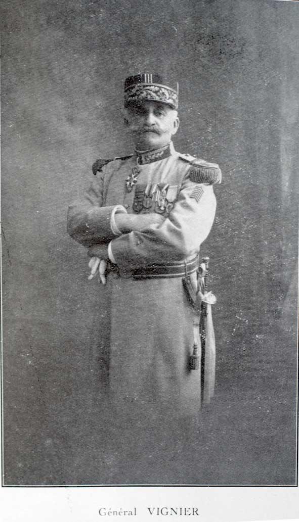portrait du général Paul Vignier